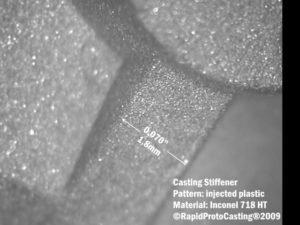 Stiffeners Improve Performance of High Strength Castings